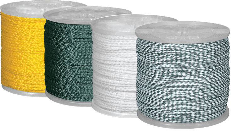 1/4in hollow braid poly rope