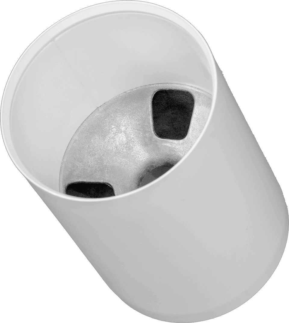 Aluminum regulation cups